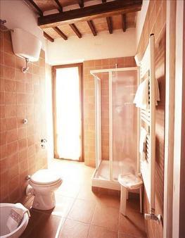 拉罗通达酒店 - 锡耶纳 - 浴室