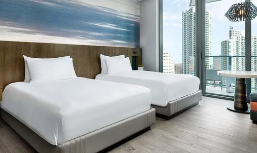 东迈阿密酒店 - 迈阿密 - 睡房