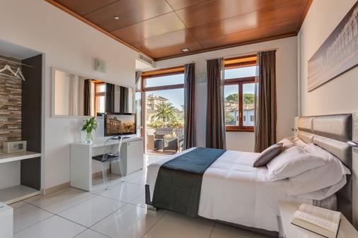 迪瑞沃龙门塔拉酒店 - 罗马 - 睡房