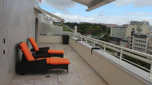 尔克斯庞巴尔酒店 - 里斯本 - 阳台