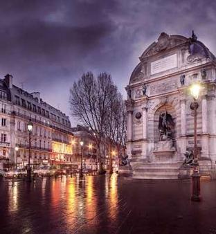 艾塔格沼泽旅馆 - 巴黎 - 户外景观
