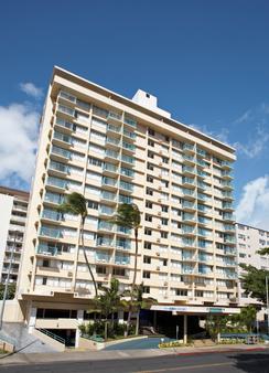 威基基阿瓜阿洛哈冲浪酒店 - 檀香山 - 建筑