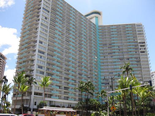 伊利凯豪华公寓式酒店 - 檀香山 - 建筑