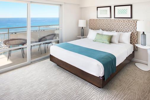 伊利凯豪华公寓式酒店 - 檀香山 - 睡房