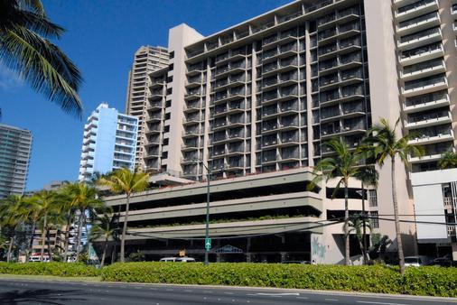 威基基阿瓜棕榈酒店 - 檀香山 - 建筑