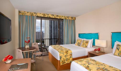 威基基阿瓜棕榈酒店 - 檀香山 - 浴室