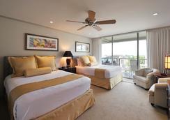 阿斯顿捕鲸卡阿纳帕利海滩酒店 - 拉海纳 - 睡房
