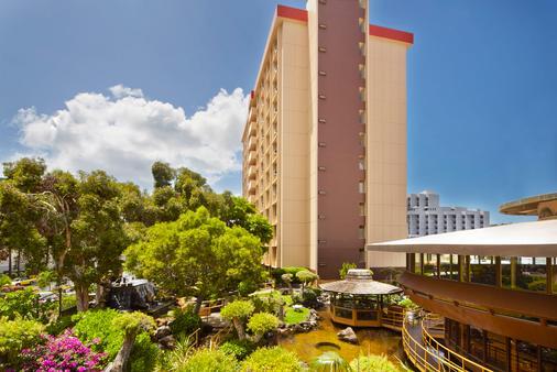帕戈达酒店 - 檀香山 - 建筑