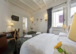 文迪斯斯卡里尼旅馆 - 罗马 - 睡房