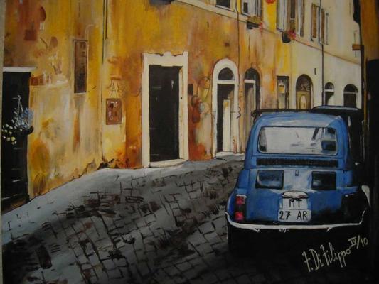 文迪斯斯卡里尼旅馆 - 罗马 - 户外景观