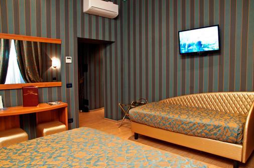 里瑞科酒店 - 罗马 - 睡房