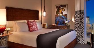 孔泰萨河边步道豪华套房酒店 - 圣安东尼奥 - 睡房