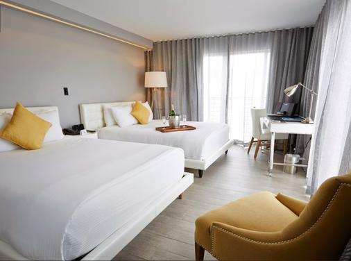 里维埃拉南滩酒店 - 迈阿密海滩 - 睡房
