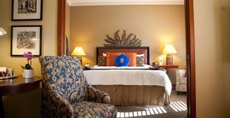 石南酒店 - 波特兰 - 睡房