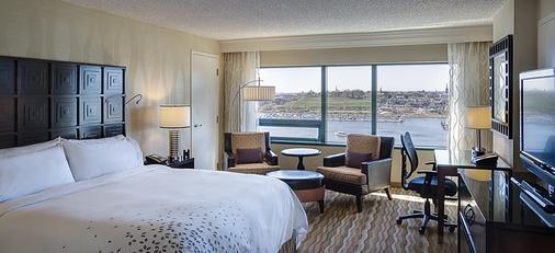 巴尔的摩哈勃尔普勒斯万丽酒店 - 巴尔的摩 - 睡房