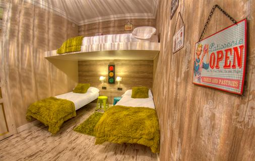 卡萨凯斯勒巴塞罗那青年旅舍 - 巴塞罗那 - 睡房