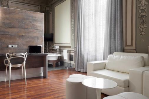 歌剧花园佩特宫酒店 - 巴塞罗那 - 客厅