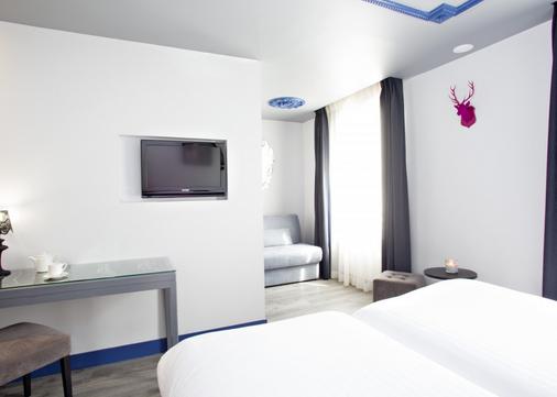 巴黎小姐酒店 - 巴黎 - 睡房