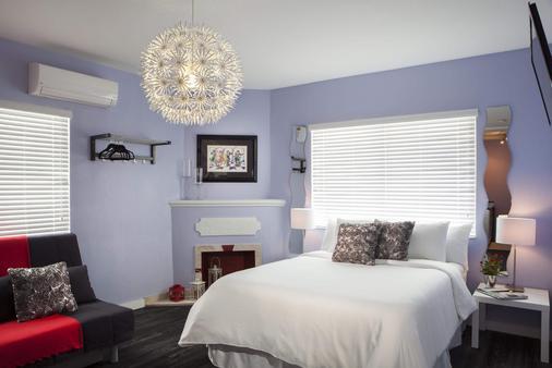 M精品酒店 - 迈阿密海滩 - 睡房