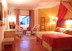 大山滨海酒店 - 阿尔布费拉 - 睡房