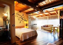 迪莫拉乐诺夫菲特酒店 - 贝加莫 - 睡房