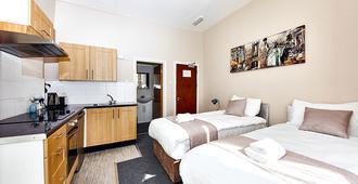 联合小屋酒店 - 伦敦 - 睡房