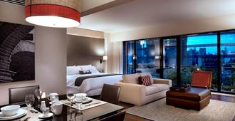 坎波斯艾里西欧司套房酒店 - 墨西哥城 - 睡房