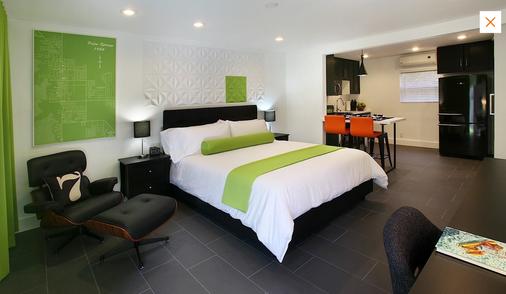 7斯普林斯旅馆&套房酒店 - 棕榈泉 - 睡房