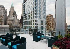 世界中心酒店 - 纽约 - 露天屋顶