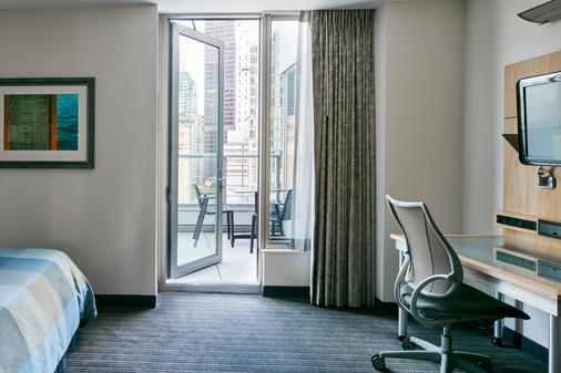 世界中心酒店 - 纽约 - 阳台