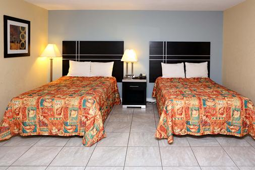 蓝枪鱼汽车旅馆 - 弗吉尼亚海滩 - 睡房
