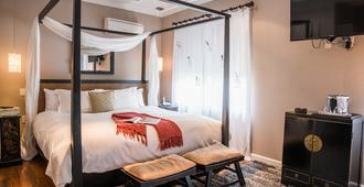 卡德特酒店 - 迈阿密海滩 - 睡房