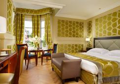 维斯康蒂皇宫豪华酒店 - 米兰 - 睡房
