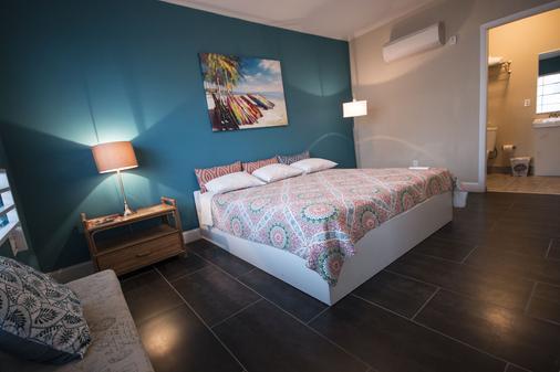 住宿加饮品酒店 - 迈阿密海滩 - 睡房