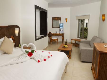 圣多斯卡拉克精选俱乐部成人全包酒店 - Playa del Carmen - 睡房