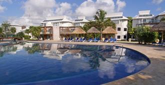 圣杜斯卡拉科尔全包生态度假村 - Playa del Carmen - 游泳池