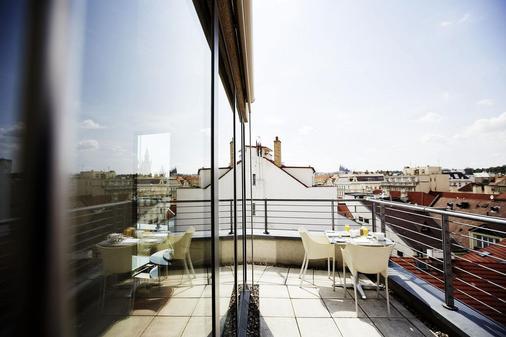 布拉格约瑟夫酒店 - 布拉格 - 阳台