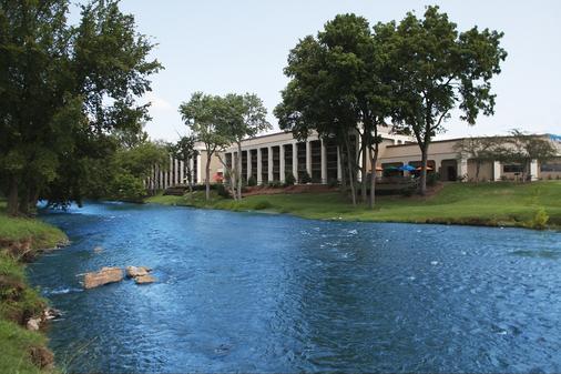 河上酒店 - 鸽子谷 - 户外景观