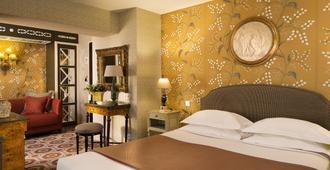 巴黎伟人酒店 - 巴黎 - 睡房