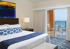万豪海滩广场大厦酒店 - 劳德代尔堡 - 睡房