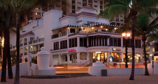 万豪海滩广场大厦酒店 - 劳德代尔堡 - 建筑