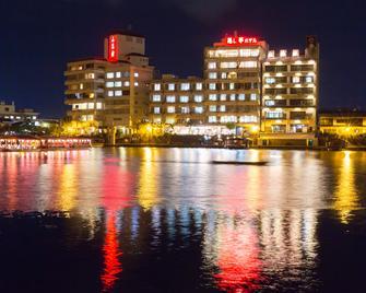 日田小金井温泉日式旅馆 - 日田市 - 户外景观