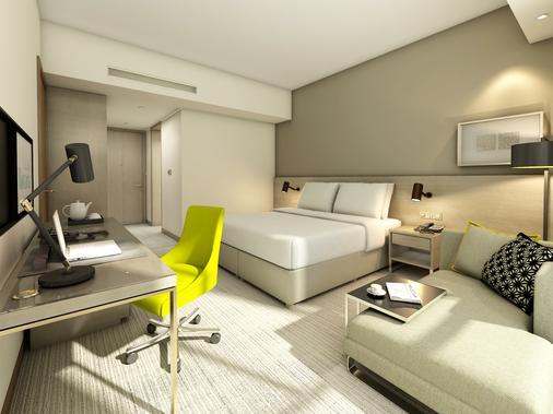桑德斯罗塔纳酒店 - 马斯喀特 - 睡房