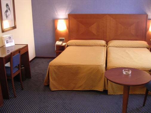 托雷鲁兹中心酒店 - 阿尔梅利亚 - 睡房