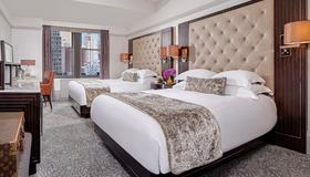 纽约西屋酒店 - 纽约 - 睡房