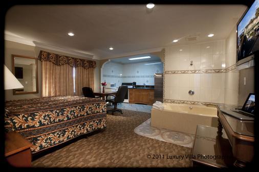 水晶洛奇汽车旅馆 - 文图拉 - 睡房