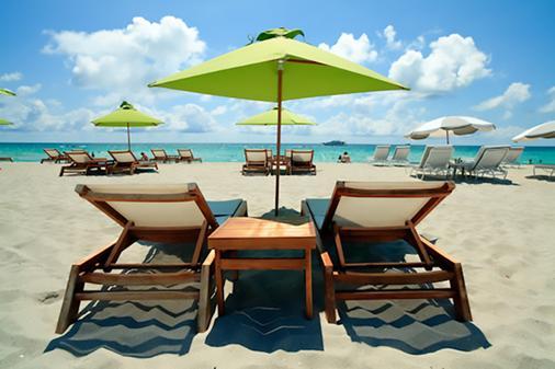 肯特酒店 - 迈阿密海滩 - 海滩