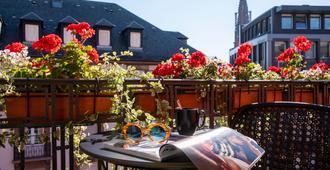 史特拉斯堡红宅邸 Spa 酒店 - 傲途格精选 - 斯特拉斯堡 - 阳台