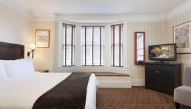 复古山庄行政酒店 - 旧金山 - 睡房