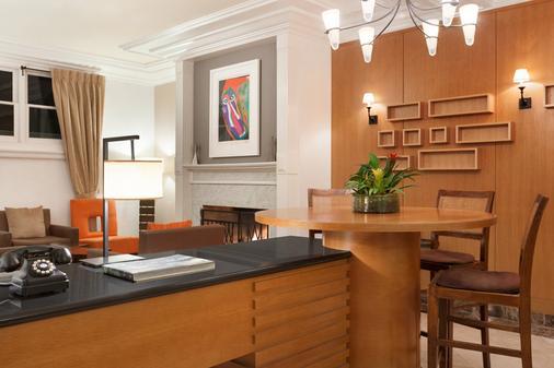 复古山庄行政酒店 - 旧金山 - 餐厅
